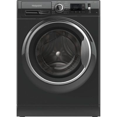 Hotpoint Activecare NM11 945 BC A UK N 9 kg 1400 Spin Washing Machine - Black