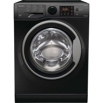 Hotpoint RDGR 9662 KS UK N 9 kg Washer Dryer – Black
