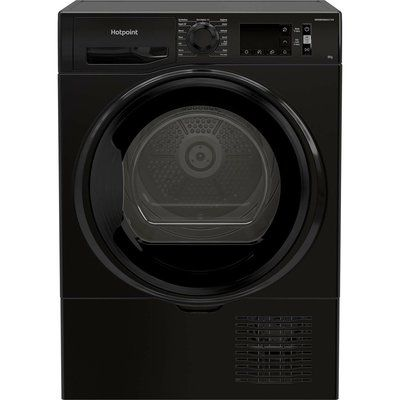 Hotpoint H3D81BUK 8KG Condenser Tumble Dryer - Black