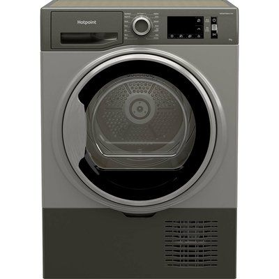 Hotpoint H3D91GSUK 9KG Condenser Tumble Dryer - Graphite