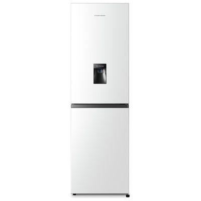 Fridgemaster MC55251MDS 251 Litre Freestanding Fridge Freezer 50/50 Split Water Dispenser 55cm Wide - Silver