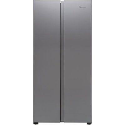 Fridgemaster MS83430FFS American Fridge Freezer - Silver