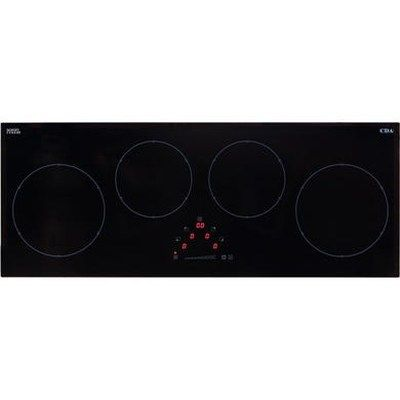 CDA HN9626FR Induction Hob 4 Zone Linear Front Touch Control 12 Power Levels