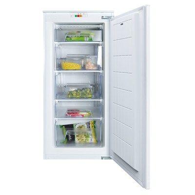 CDA FW582 54cm Wide Integrated Upright In-Column Freezer - White