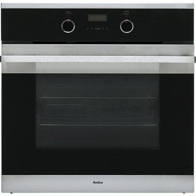 Amica ASC310SS Built In Electric Single Oven - Stainless Steel