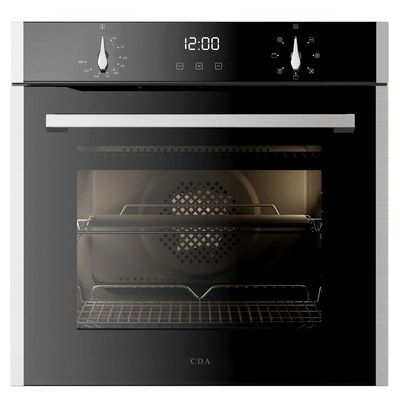 CDA SL200SS Touch Control 7 Function Electric Built-in Single Oven - Stainless Steel