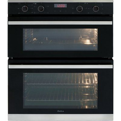 Amica ADC700SS Built Under Electric Double Oven - Stainless Steel