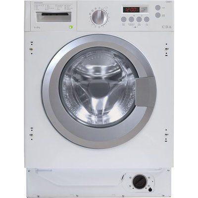 CDA CI981 Integrated 8Kg / 6Kg Washer Dryer - White