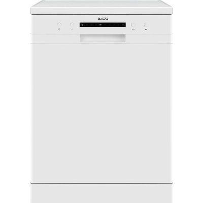 Amica ADF610WH Standard Dishwasher - White