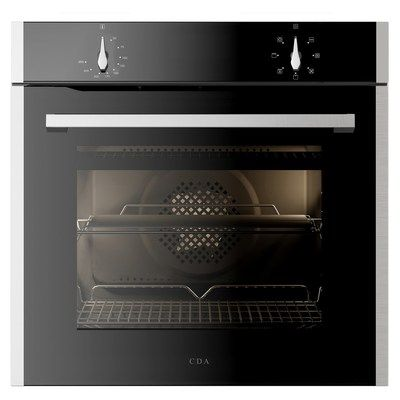 CDA SL100SS 7 Function Electric Built-in Single Oven - Stainless Steel