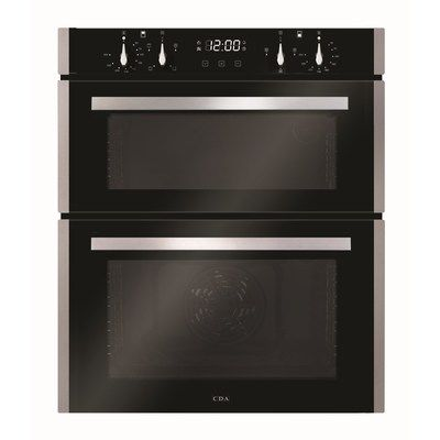 CDA DC741SS Electric Built-under Double Oven - Stainless Steel