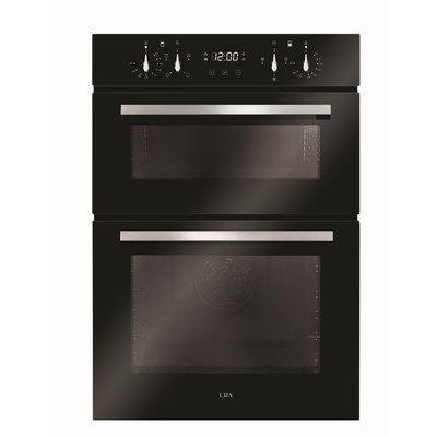 CDA DC941BL Electric Built-in Double Oven - Black