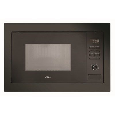 CDA VM131BL 900W 25L Built-in Microwave Oven - Black