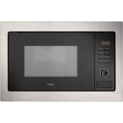 CDA VM131SS 900W 25L Built-in Microwave Oven - Stainless Steel