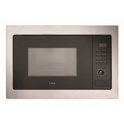CDA VM231SS 900W 25L Built-in Microwave Oven - Stainless Steel