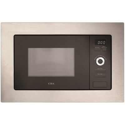 CDA VM551SS 700W 17L Built-in Microwave Oven - Stainless Steel