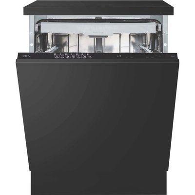 CDA CDI6241 Fully Integrated Standard Dishwasher - Black