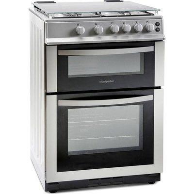 Montpellier MDG600LS 60 cm Gas Cooker - Silver