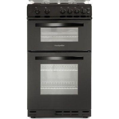 Montpellier MDG500LK 50 cm Gas Cooker - Black