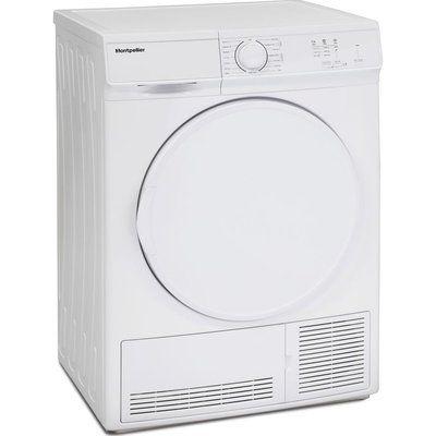 Montpellier MCD7W 7 kg Condenser Tumble Dryer - White