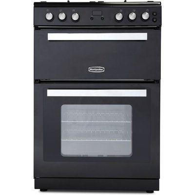 MONTPELLIER RMC61DFK 60 cm Dual Fuel Cooker - Black