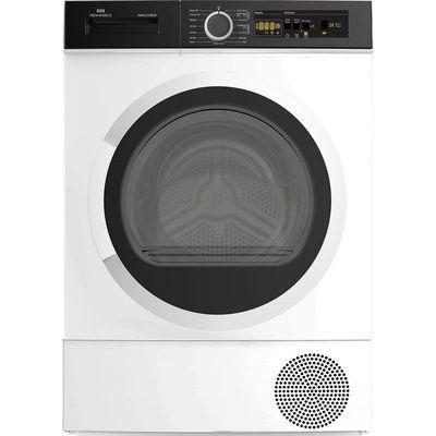 New World NWCGTD8HP 8KG Heat Pump Tumble Dryer - White