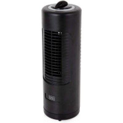 Black & Decker BXFT50003GB Mini Tower Capsule Desk Fan