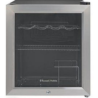 Russell Hobbs RHGWC3SS-C-LCK Wine & Drinks Cooler With Lock- Stainless Steel