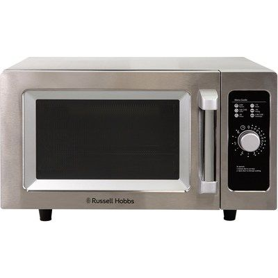 Russell Hobbs RHCM2576SS 1000W 25L Flatbed Microwave Oven - Stainless Steel