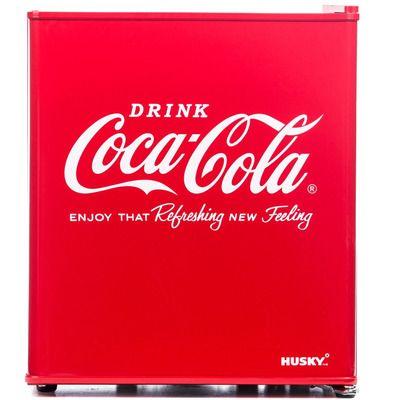 Husky EL196 Mini Fridge/Drinks Cooler - Coca Cola