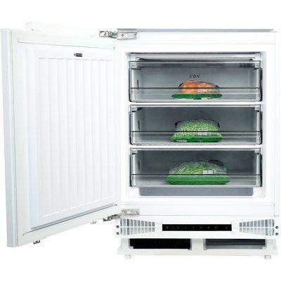 CDA FW284 Under Counter Integrated Freezer