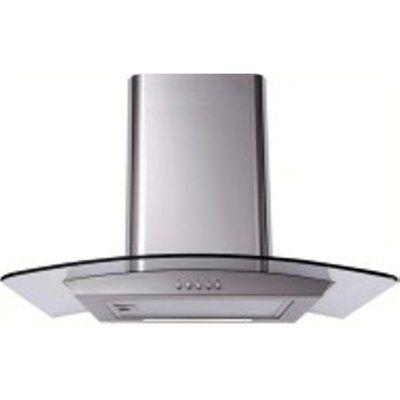 Matrix MEP601SS-3 Twin Fan Chimney Hood with LED Lights