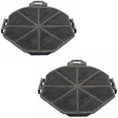 CDA CHA17 Charcoal Grease Filter 2x Pack for Models Listed