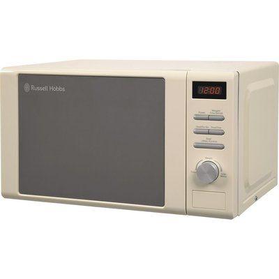 Russell Hobbs RHM2064C Solo Microwave - Cream