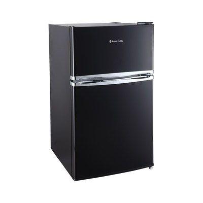 Russell Hobbs RHUCFF50B 70/30 Under Counter Top Mount Freestanding Fridge Freezer - Black
