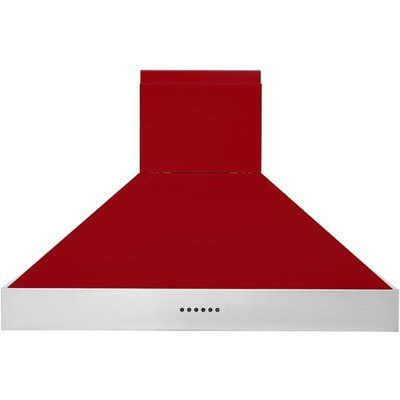 Britannia Latour HOOD-BTH90-GR 90 cm Chimney Cooker Hood - Red