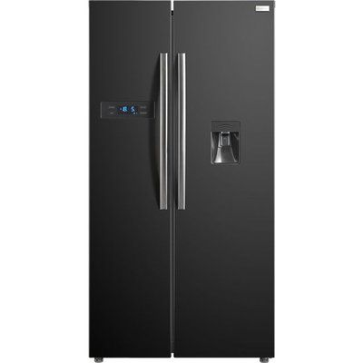 Russell Hobbs RH90FF176B-WD American Fridge Freezer - Black