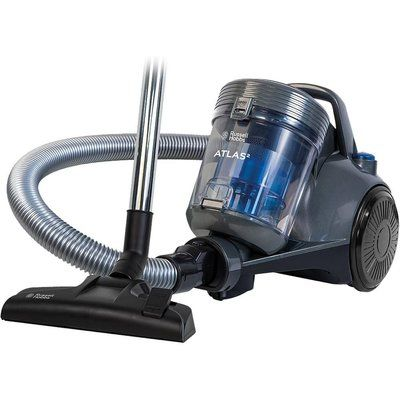 Russell Hobbs Atlas RHCV3101 Cylinder Bagless Vacuum Cleaner - Spectrum Grey & Blue