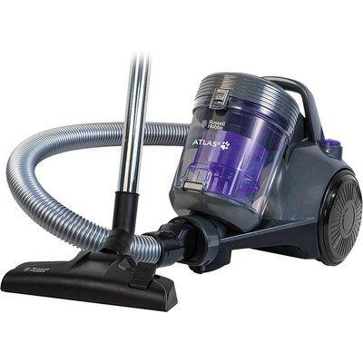 Russell Hobbs Atlas2 RHCV3601 Cylinder Bagless Vacuum Cleaner - Purple & Grey