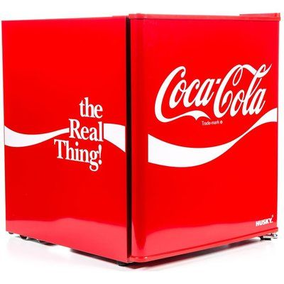 Husky Coca-Cola HUS-HU252 Mini Fridge - Red