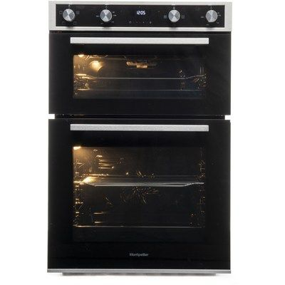 Montpellier DO3570IB Electric Built-in Double Oven - Black