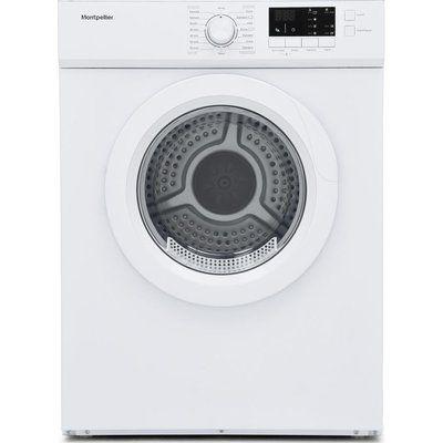 Montpellier MVSD7W 7 kg Vented Tumble Dryer - White