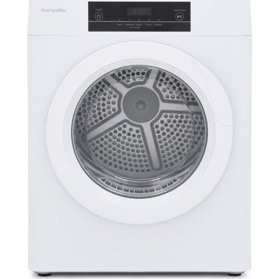 Montpellier MTD30P 3 kg Vented Tumble Dryer - White