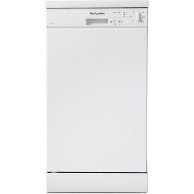 Montpellier DW1065W Slimline Dishwasher - White