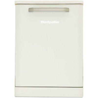 Montpellier MAB6015C Full-size Dishwasher - Cream