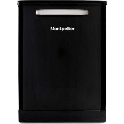 Montpellier MAB6015K Full-size Dishwasher - Black