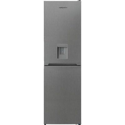 Montpellier MFF185DX 50/50 Fridge Freezer - Inox