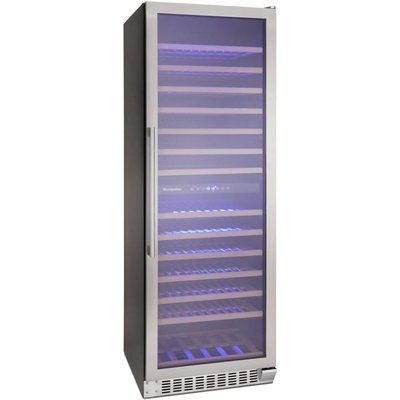 Montpellier MON-WC166X Wine Cooler - Stainless Steel