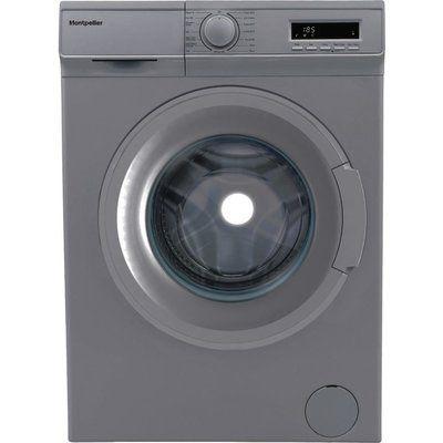 Montpellier 7kg 1400 Spin Washing Machine - Silver