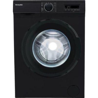 Montpellier MW7141K 7 kg 1400 Spin Washing Machine - Black